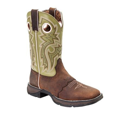 Lady Rebel by Durango Women's Meadow n' Lace Saddle Western Boot 3573 MEADOW N' LACE