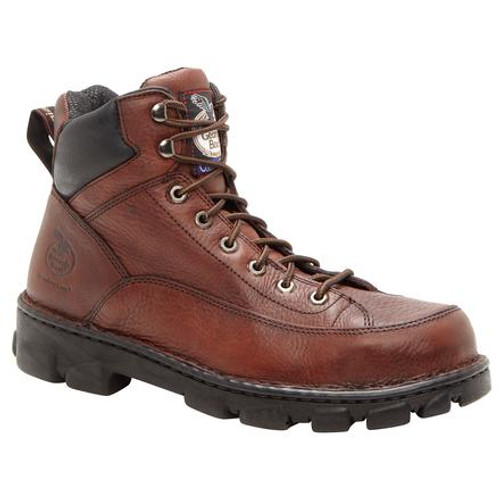 Georgia Boot Eagle Light Wide Load Steel Toe Work Hiker 6395 SOGGY COPPER KETTLE