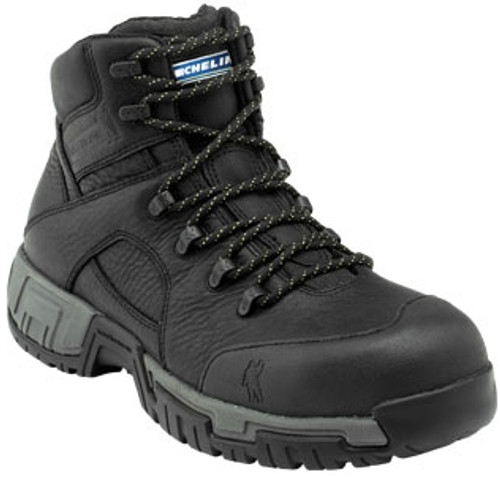 Michelin Mens HydroEdge Steel Toe Work Boots XHY866 Black