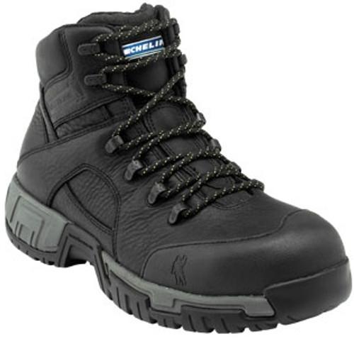 Michelin Mens HydroEdge Steel Toe Work Boots XHY866 Black