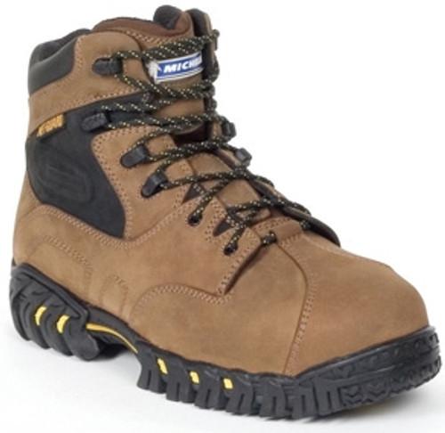 Michelin Mens Steel Toe Int. Metatarsal Guard Boots XPX763 Brown