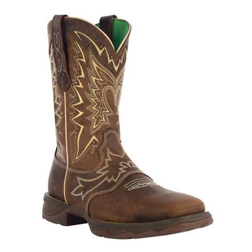 Lady Rebel by Durango Let Love Fly Western Boot 4424 NICOTINE AND BROWN