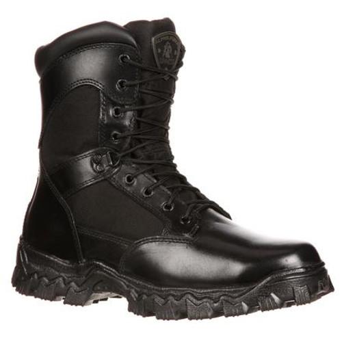 Rocky AlphaForce Waterproof Zipper Composite Toe Duty Boot 6173 BLACK