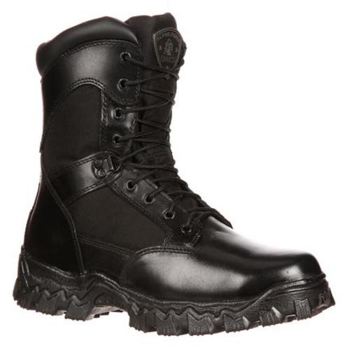 Rocky AlphaForce Zipper Waterproof Duty Boot 2173 BLACK