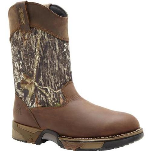 Rocky Aztec Waterproof Camo Pull-On Boots 2871 MOSS OAK ATM
