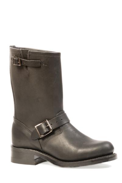 Boulet Ladies Rubber Boot Medium Round Square Toe Everest Black 3167