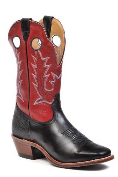 Boulet Mens Western Boots London Black 8169