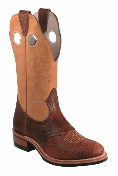 Boulet Ladies Western Boots Apache Whaler Buckskin 3131