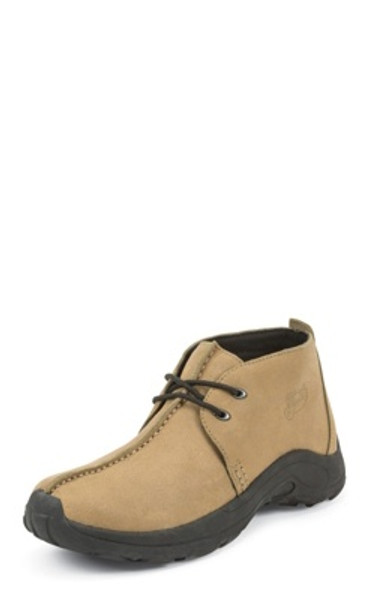 Justin Ladies Boots L0170 4 INCH HEIGHT TAN WAXY SPLIT