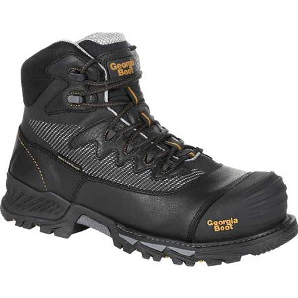 Georgia Boot Mens Rumbler Composite Toe Waterproof Hiker GB00311 BROWN