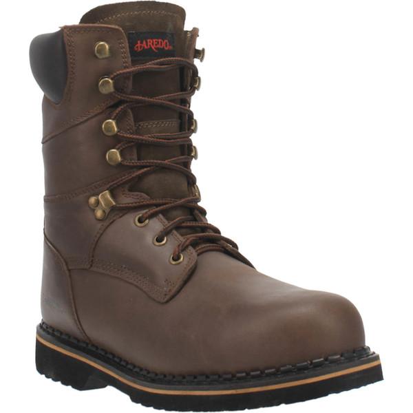 "Laredo Boots Mens 88344 8"" CHAIN-STEEL TOE"