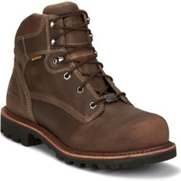 "Chippewa Mens Boots 73201 6"" BOLVILLE FOSSIL"