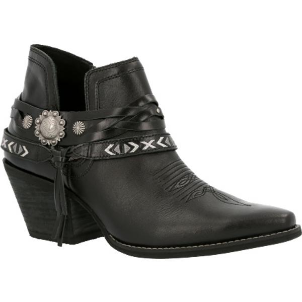 Crush by Durango® Women's Black Western Bootie DRD0397 BLACK