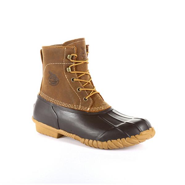 Georgia Boot Mens Marshland Unisex Alloy Toe Duck Boot GB00413 BROWN