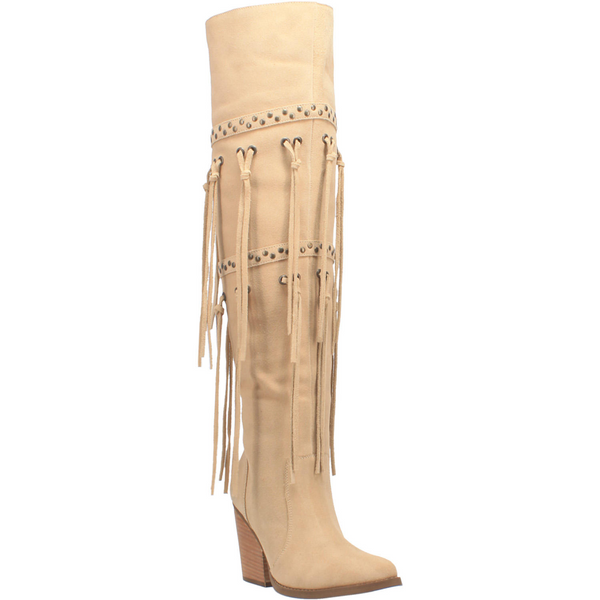"""Dingo Boots Ladies DI 268 22"""" #WITCHY WOMAN Sand"""