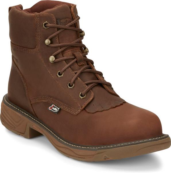Justin Mens Boots SE466 Rush Nano Comp Toe Brown