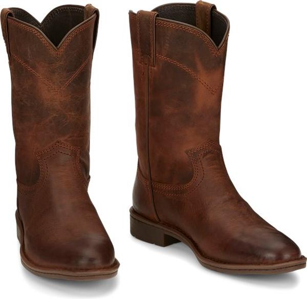 Justin Mens Boots RP3911 Walker Bourbon Brown