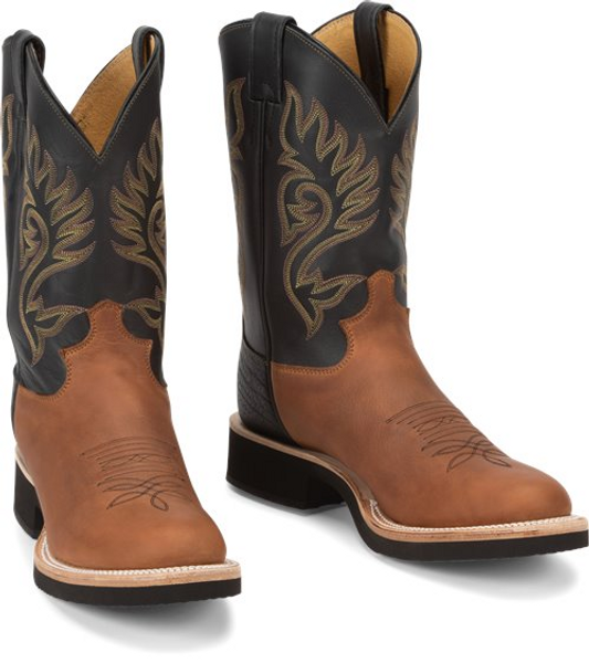 """Justin Mens Boots 5008 11"""" Paluxy Brown"""