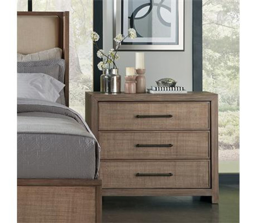 Constructed of hardwood solids and Oak veneer All drawers have dovetail joinery, ballbearing extension guides, and a woven cane insert on the fronts Bottom drawer has a Cedar veneer bottom, all others are felt-lined Dust panel under bottom drawer Tip restraining hardware