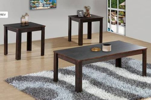 Brown Coffee Table 3 PC Set