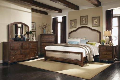 Laughton Bedroom Collection with Upholstered Bed