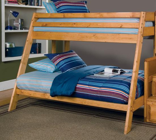 Wrangle Hill Collection Twin/Full Bunk Bed