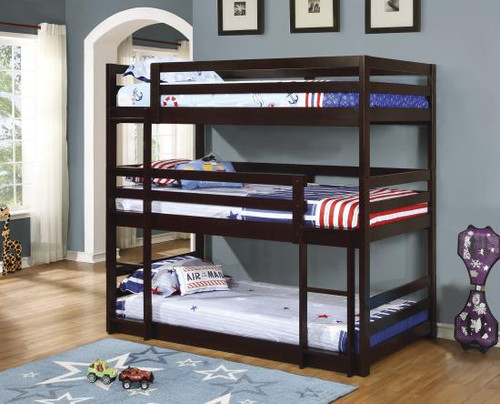 Sandler Triple Bunk Bed Twin/Twin/Twin