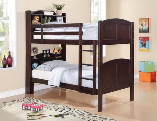 Parker Bookcase Bunk Bed Twin/Twin