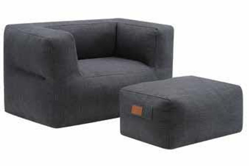Chair and Ottoman Bean Bag