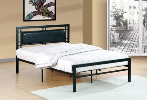 Black/White Twin Bed