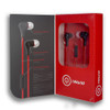 iWorld Turbo Earbuds with Mic Red
