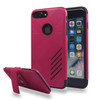 Avant Guard Case with Holster Combo for Samsung Galaxy S8 Plus - Hot Pink-Black