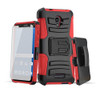 Rugged hybrid case with kickstand and holster combo forAlcatel Walters