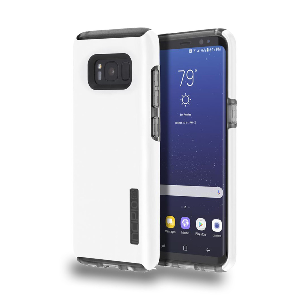 reputable site 5bfdd 87135 INCIPIO - DualPro Case for Samsung Galaxy S8 Iridescent White