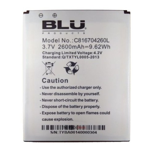 Replacement Battery for blu dash 5.5 d470