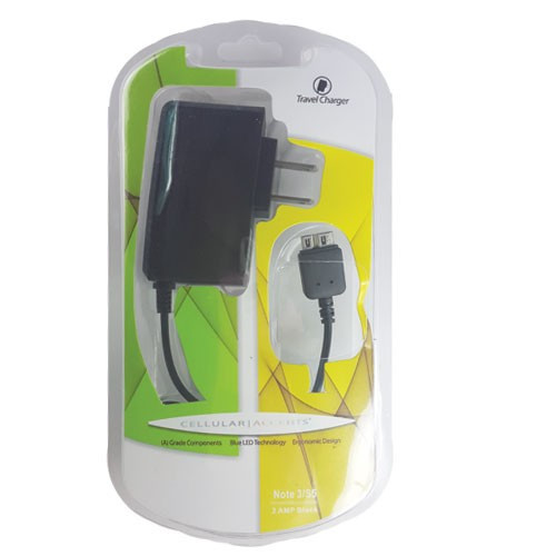 Cellular Accents micro usb travel charger 2 amp black