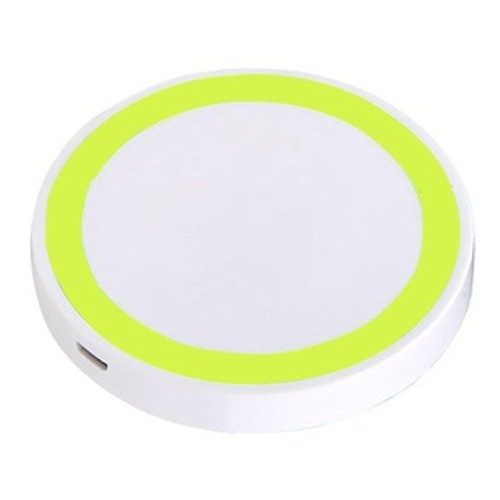 generic wireless charging pad stand yellow