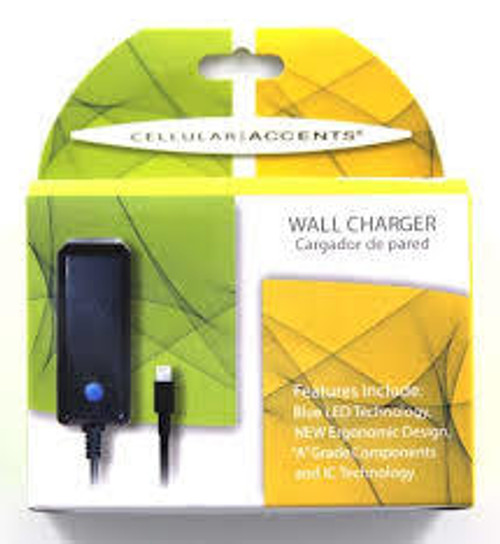 Cellular Accents travel charger for iphone 4 and ipad 800 mah