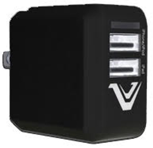 Votec Mini dual usb 3.1 amp travel charger adapter black