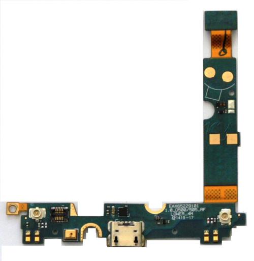 Lg Optimus F6 MS500-550 Metro Charging Port Flex