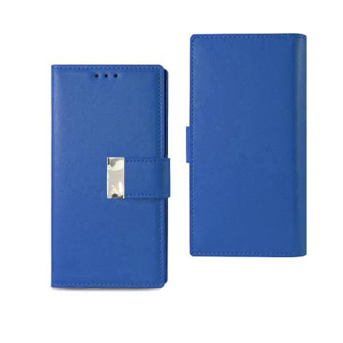 Vogue wallet for iphone 7 plus blue