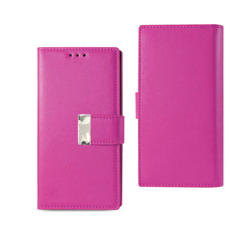 Vogue wallet for iphone 7 plus hot pink