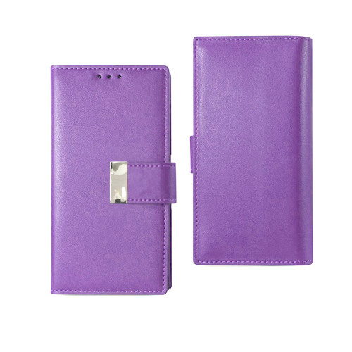 Vogue wallet for samsung galaxy j7 prime violet