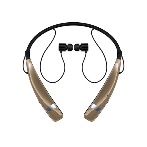LG HBS-760 AGEUGD BLUETOOTH WIRELESS STEREO HEADSET GOLD