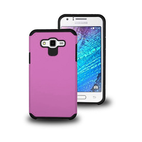 new concept 3bf0a 04a68 thin shell hybrid case for iphone 6 plus pink-black