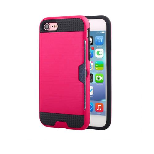 ID Slim Jacket Hybrid Case for Samsung Galaxy ON5 G550 Hot Pink-Black