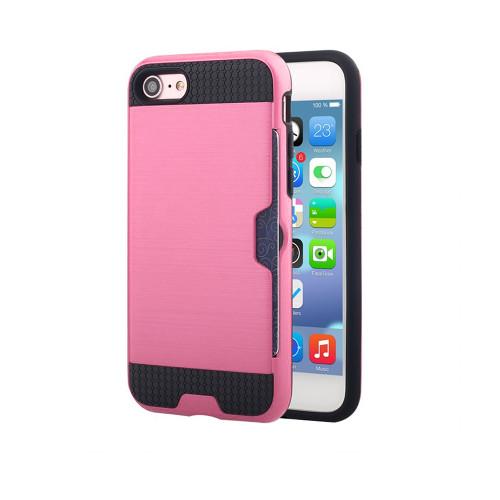 ID Slim Jacket Hybrid Case for Samsung Galaxy ON5 G550 Pink-Black