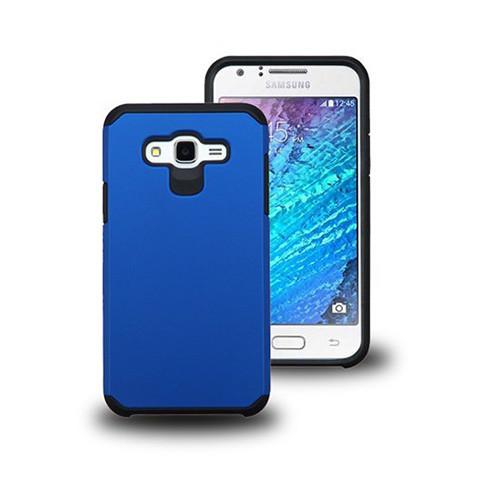 thin shell hybrid case for samsung galaxy s6 edge plus blue-black