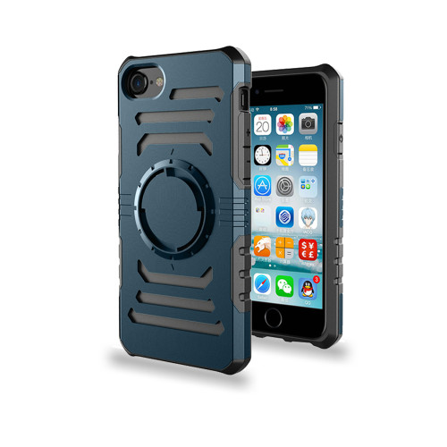 Ab Pro Armband Case with Kickstand for iPhone 7/8 Storm Blue