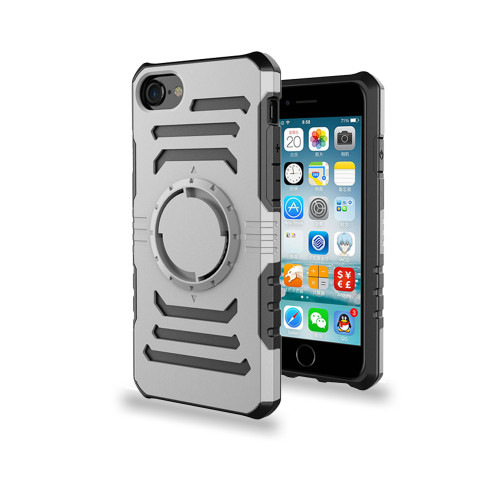 Ab Pro Armband Case with Kickstand for iPhone 7/8 Plus Silver